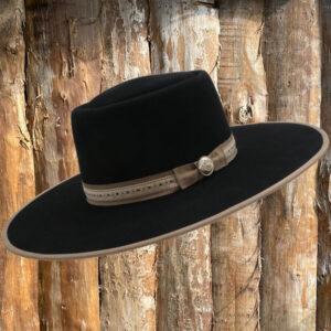 Cowboy-Hut-10X-Fur-Felt-Vaquero-Black-links